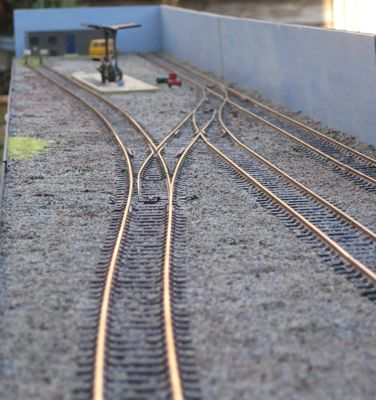 Trackwork on my 'Phoenix Yard' Layout